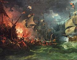 『スペイン無敵艦隊の敗北』