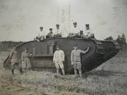 初期の戦車(WWⅠ)